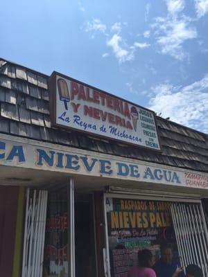 La Reyna De Michoacan 2758 E Gage Ave Huntington Park Ca Ice Cream