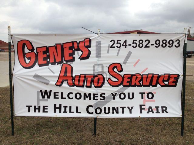 Gene's Auto Service: 1409 Abbott Ave, Hillsboro, TX