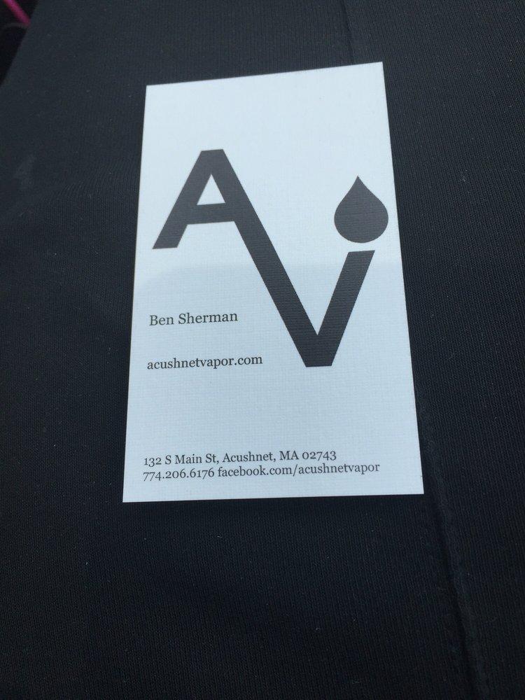 Acushnet Vapor Co: 132 S Main St, Acushnet, MA