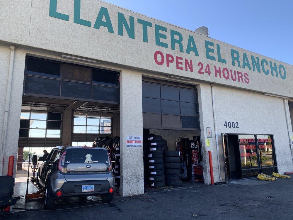 Llantera El Rancho Tires