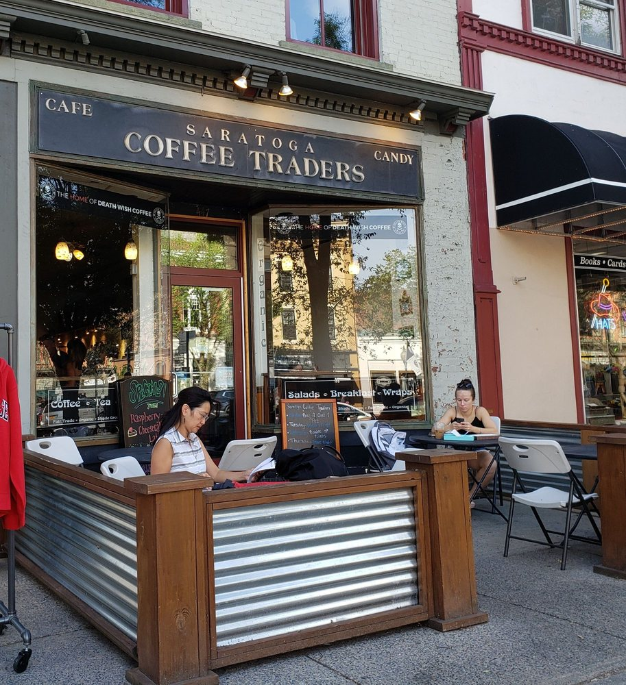 Social Spots from Saratoga Coffee Traders