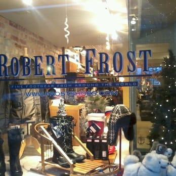 Robert Frost Shoe Store