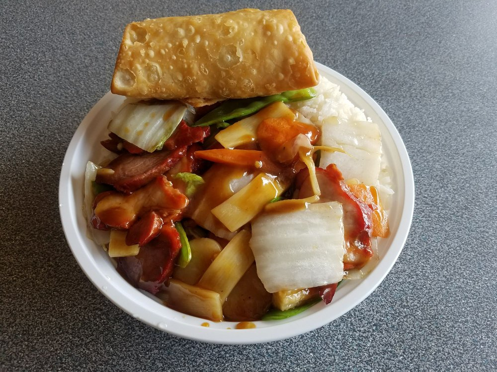 Food from New China Restaurant
