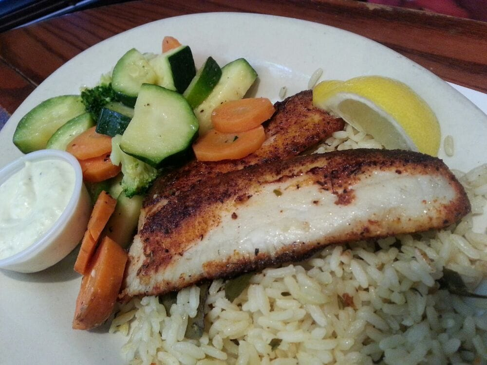 Blackened tilapia yelp for Fish city grill