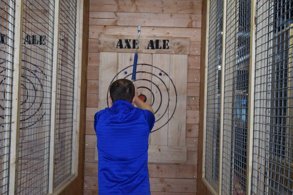 Axe & Ale: 115 SE 6th Ave, Topeka, KS
