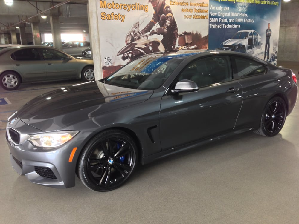 435i Mineral Gray 19 Quot Wheels Blacked Out Yelp