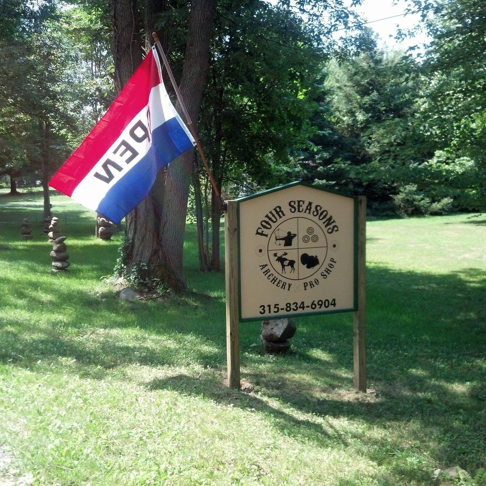 Four Seasons Archery Pro Shop: 8465 Cooper Rd, Weedsport, NY