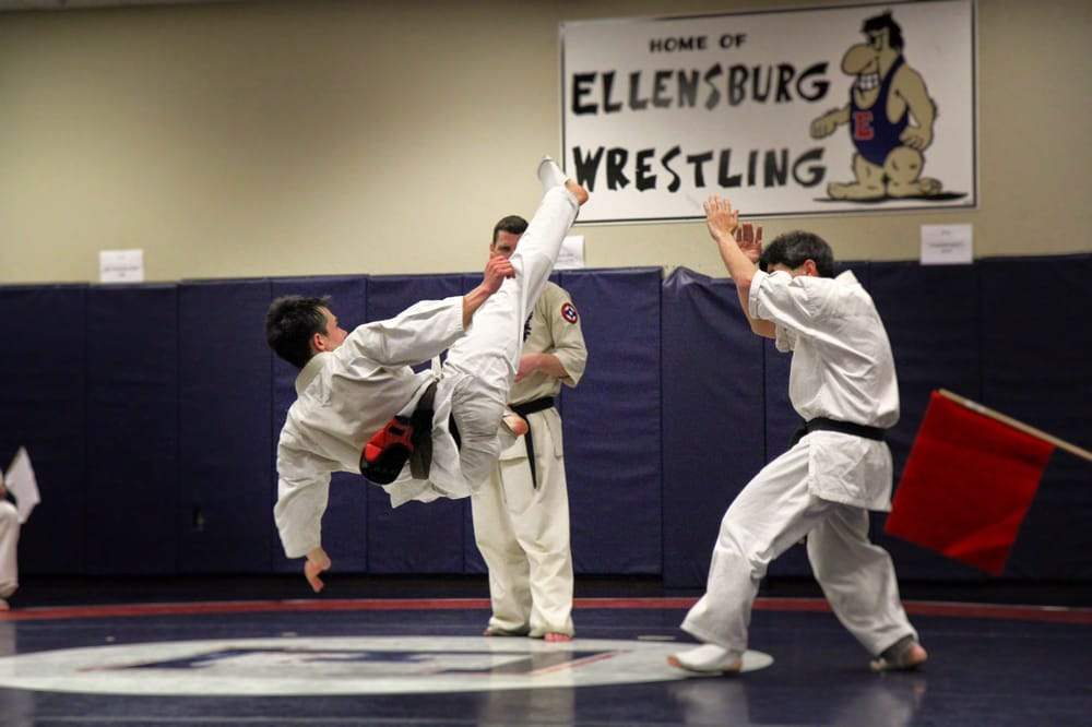 Central Kyokushin Karate: 1203 E Capitol Ave, Ellensburg, WA
