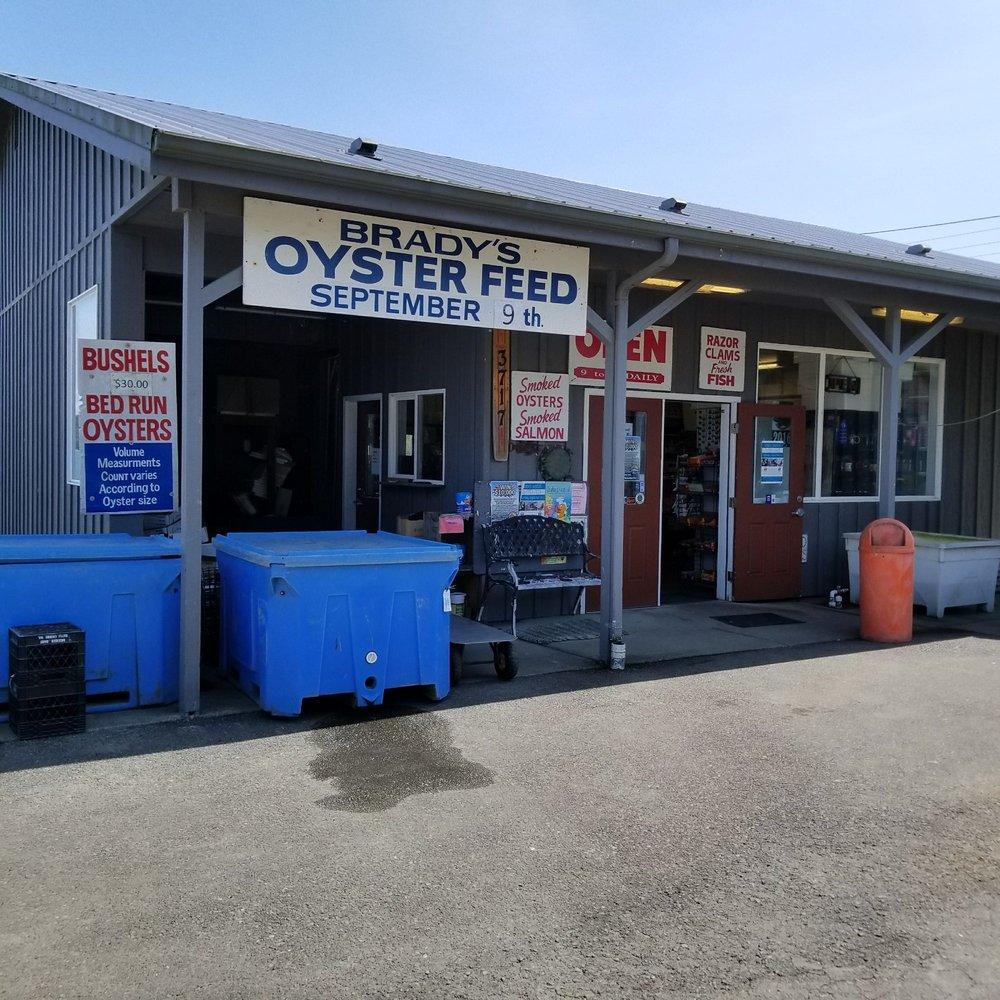 Brady's Oysters: 3714 Oyster Pl, Aberdeen, WA