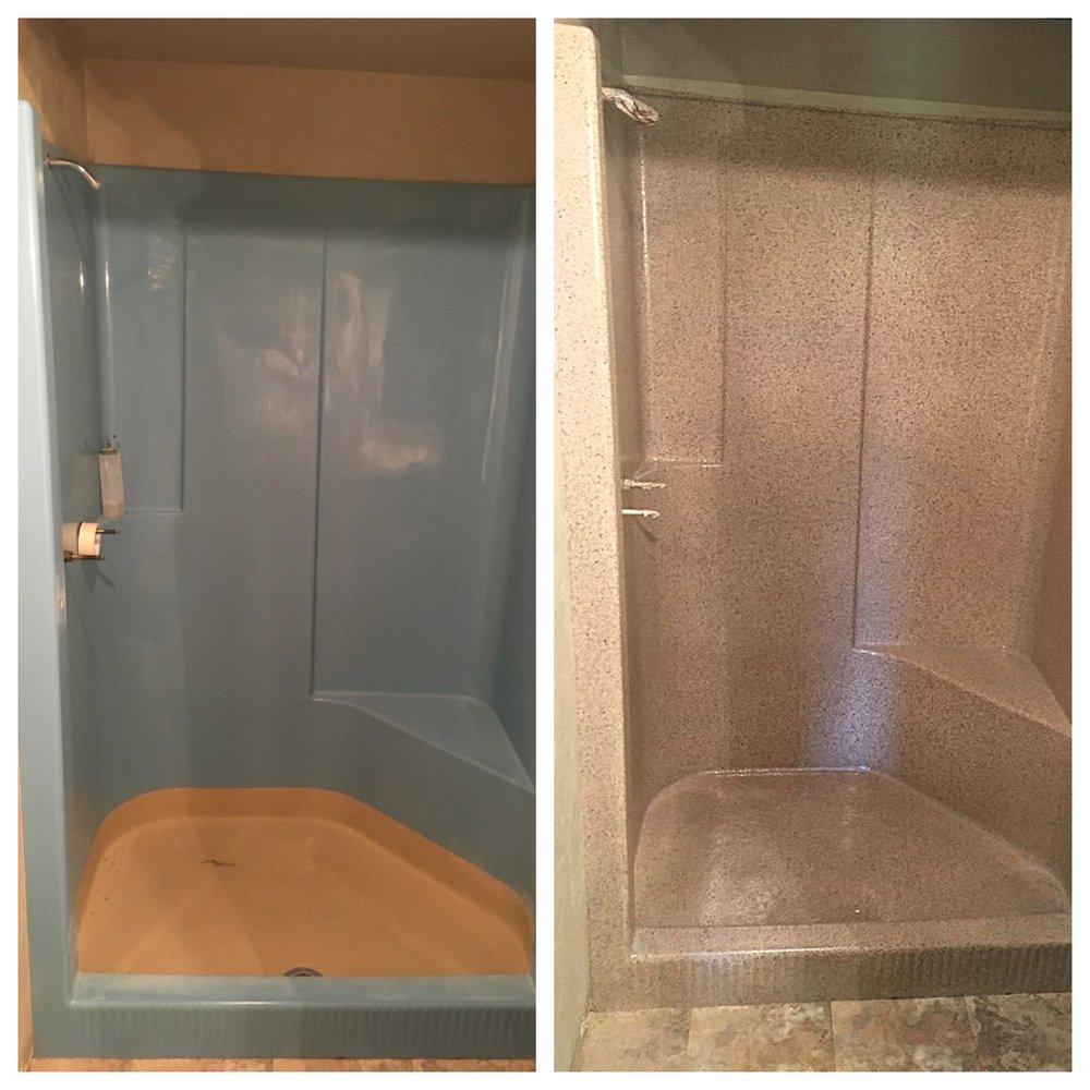 Fiberglass Shower Refinishing - Yelp