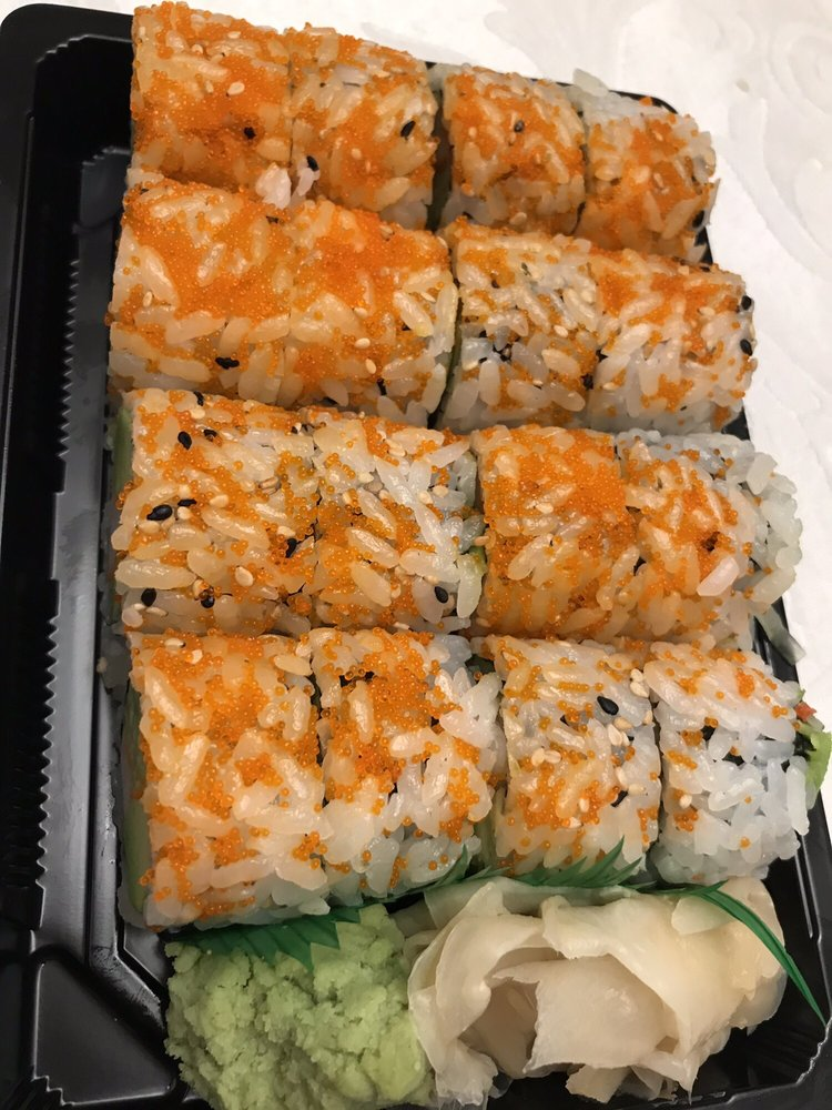 Food from Kumo Sushi