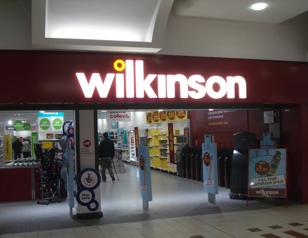Wilkinson department stores 51c rivergate centre for The rivergate