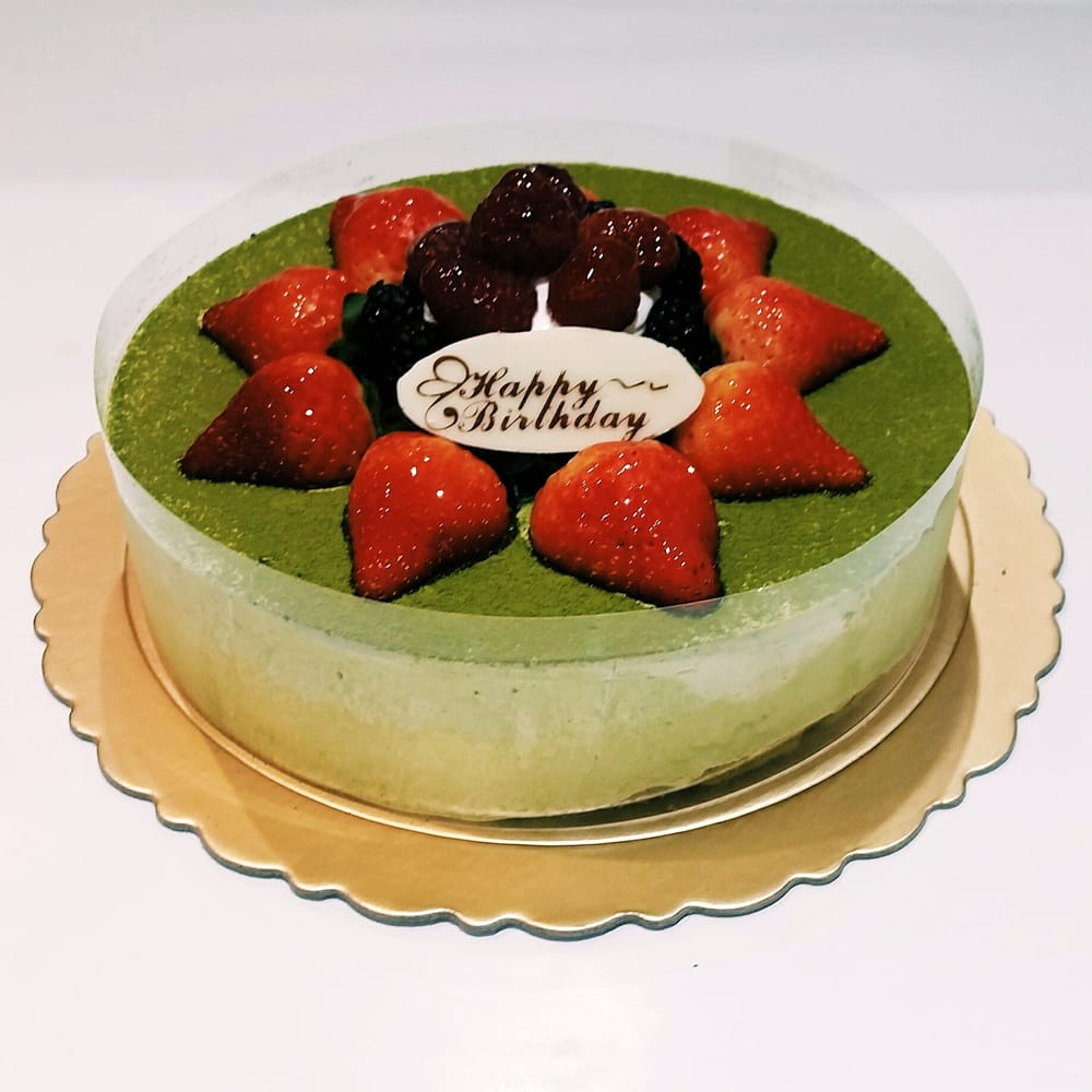 Matcha Green Tea Birthday Cake Yelp