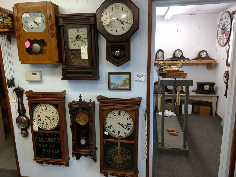 Clock Repair Haus: 2125 Washington Ave, Saint Joseph, MI