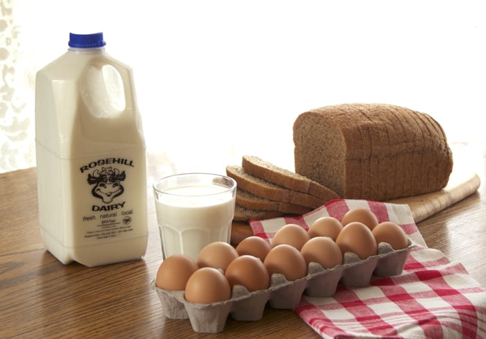 Rosehill Dairy Home Delivery: 4110 W 5800 N, Morgan, UT