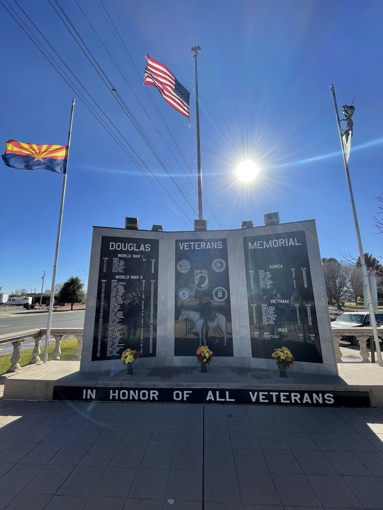 Douglas Visitor Center: 345 16th St, Douglas, AZ