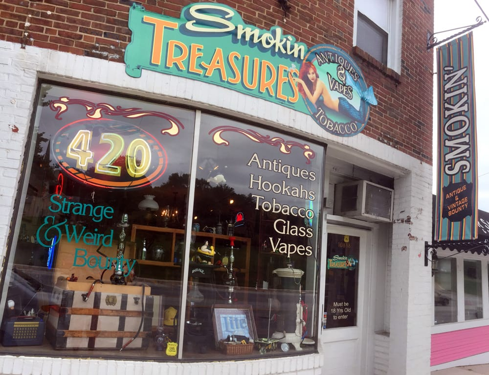 Smokin treasures: 10838 York Rd, Cockeysville, MD