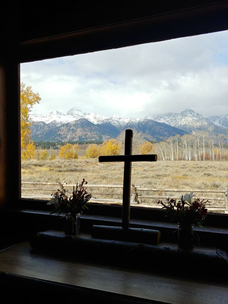 Chapel of the Transfiguration: Menors Ferry Rd, Moose, WY