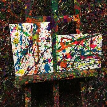 Paint Splatters Inside Car