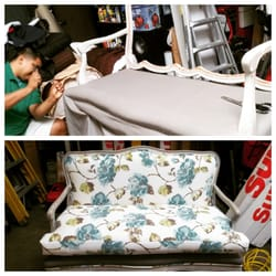 Photo Of Rigou0027s Upholstery   San Diego, CA, United States. Floral On Vintage