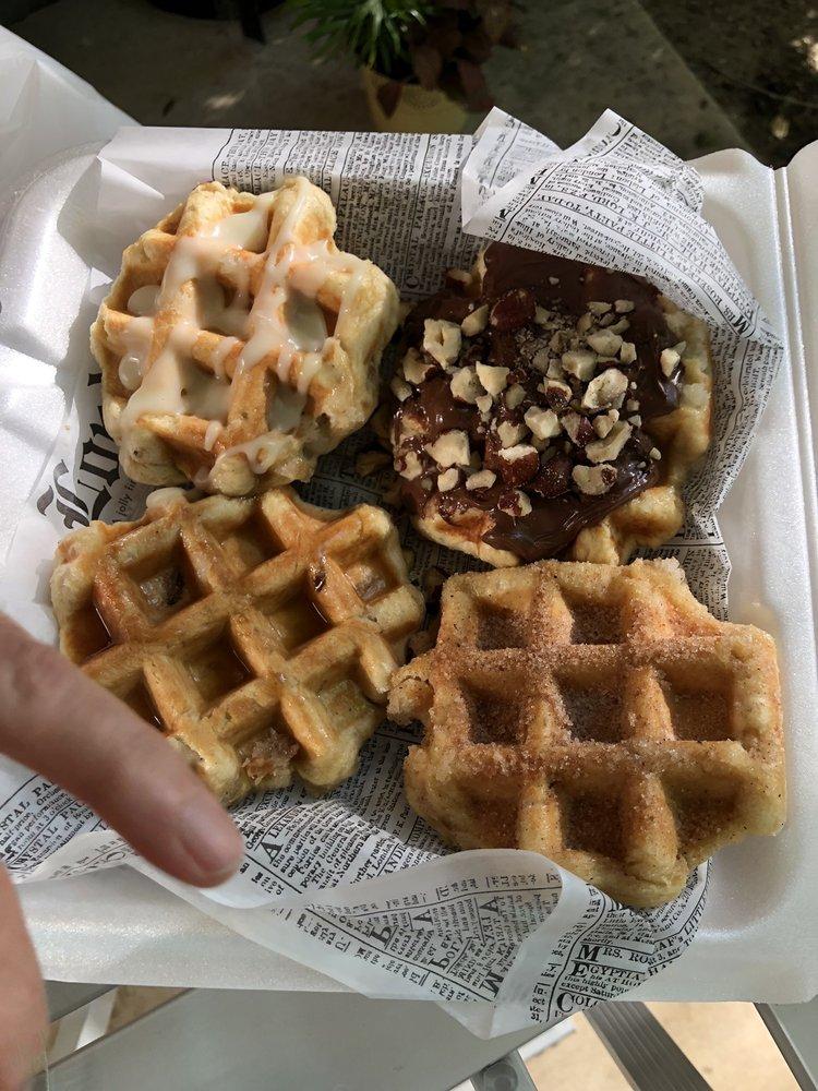 Water Street Waffle: 107 Water St, Belton, TX