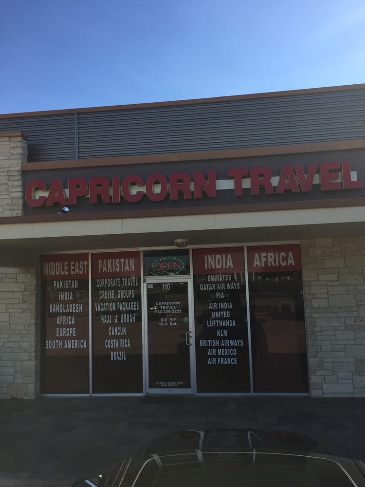Capricorn Travel: 3939 Hillcroft Ave, Houston, TX