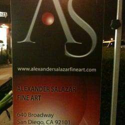 Salazar Contemporart Art Exhibits Framing 1162 Prospect