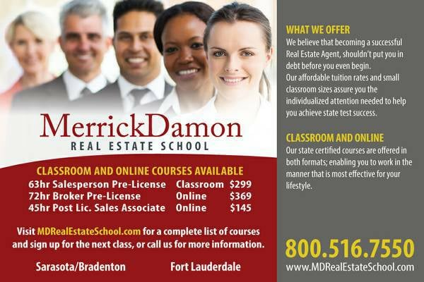 MerrickDamon Real Estate School - Specialty Schools - 3800