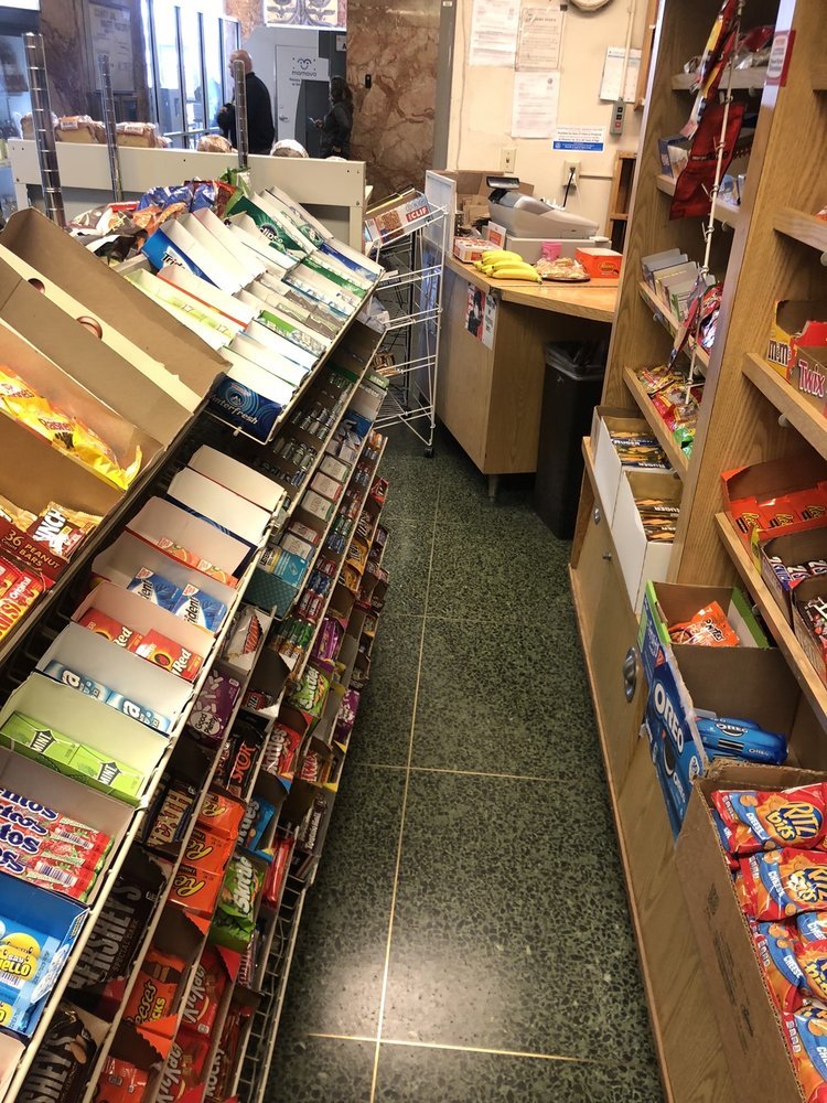 Hall Of Justice Snack Shop