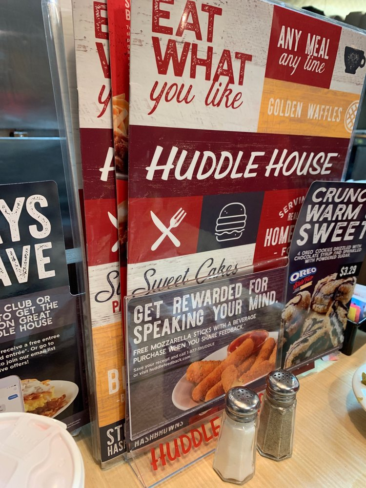 Huddle House: 809 Elm Street, West, Hampton, SC