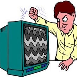Image result for TV repairman clipart