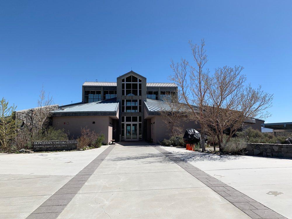 Mono Basin Visitor Center: 1 Visitor Center Dr, Lee Vining, CA