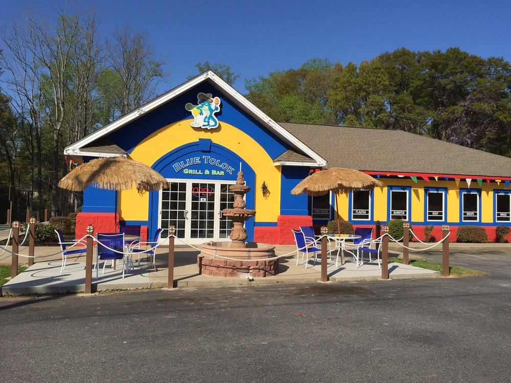 Blue Tolok Grill & Bar: 304 S Carolina 28, Anderson, SC