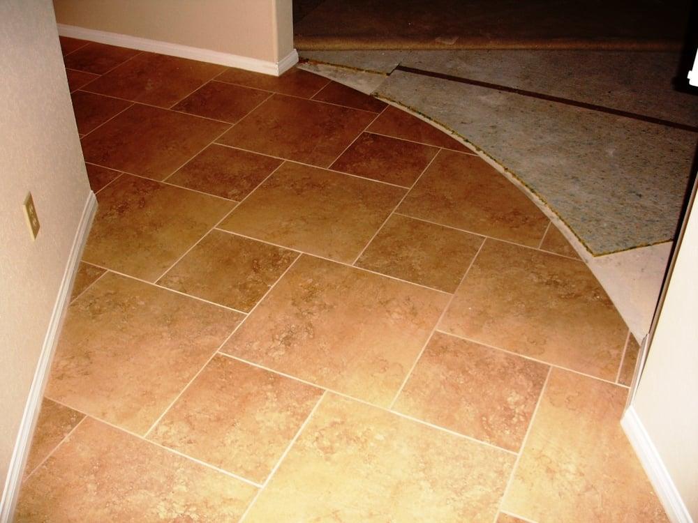 Tile floor 18 x 18 porcelain tile yelp for 18 x 18 tile floor