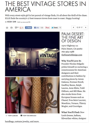 The Fine Art Of Design 73717 Highway 111 Palm Desert Ca Vintage