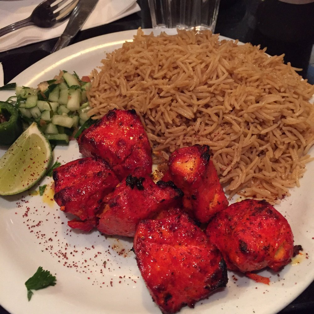 Chicken Kabob With Brown Rice Yelp