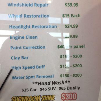 Ishine Express Car Wash Detail Pearland Tx