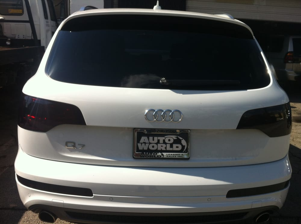 2013 audi q7 backglass installed yelp for Five star windows