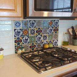 Photo Of Texas Tile House   Watauga, TX, United States. Kitchen Counter And