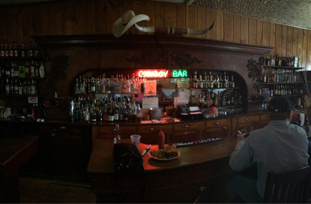 Outlaw Parlor Cafe: 1936 State, Meeteetse, WY