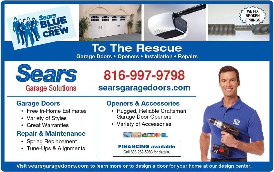 Sears Garage Door Installation and Repair: Kansas City, MO