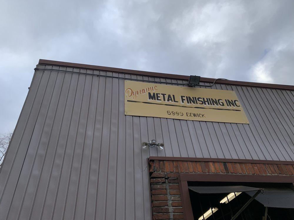 Dynamic Metal Finishing: 5999 Bewick St, Detroit, MI