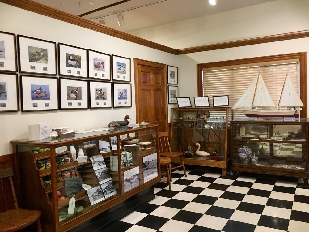 Chesapeake Heritage and Visitors Center: 425 Piney Narrows Rd, Chester, MD