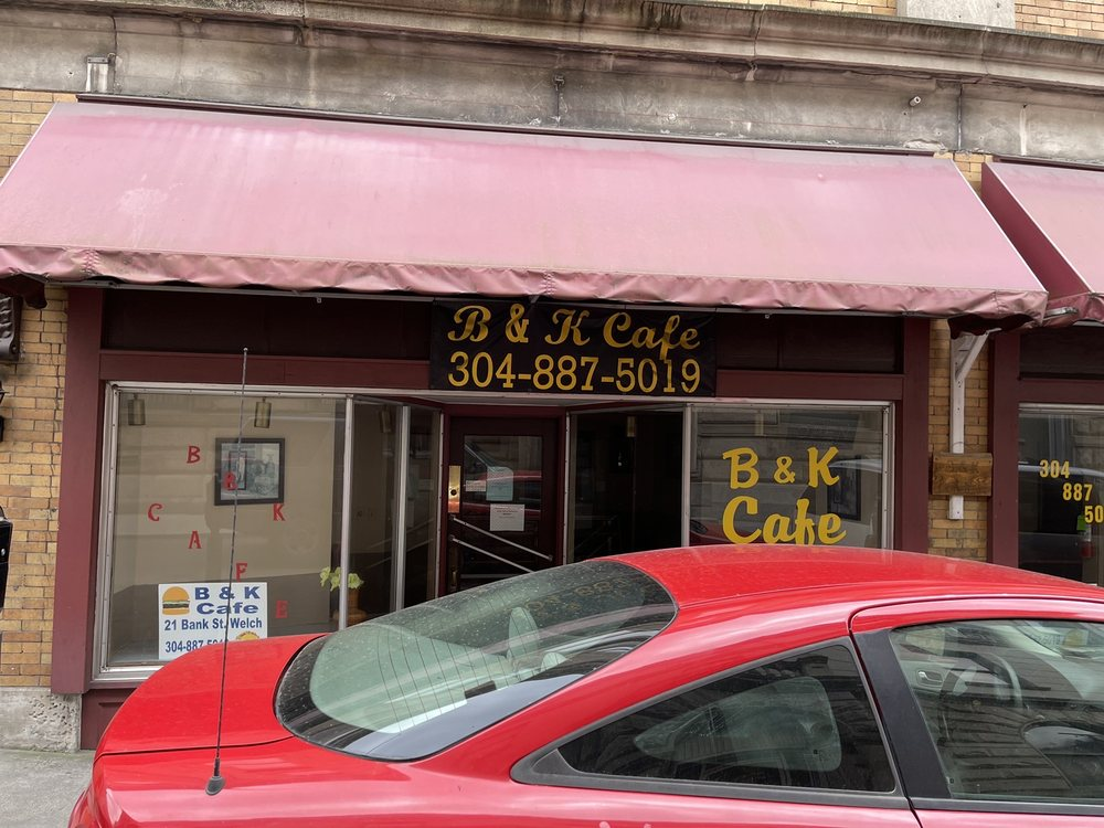 B And K Cafe': 21 Bank St, Welch, WV