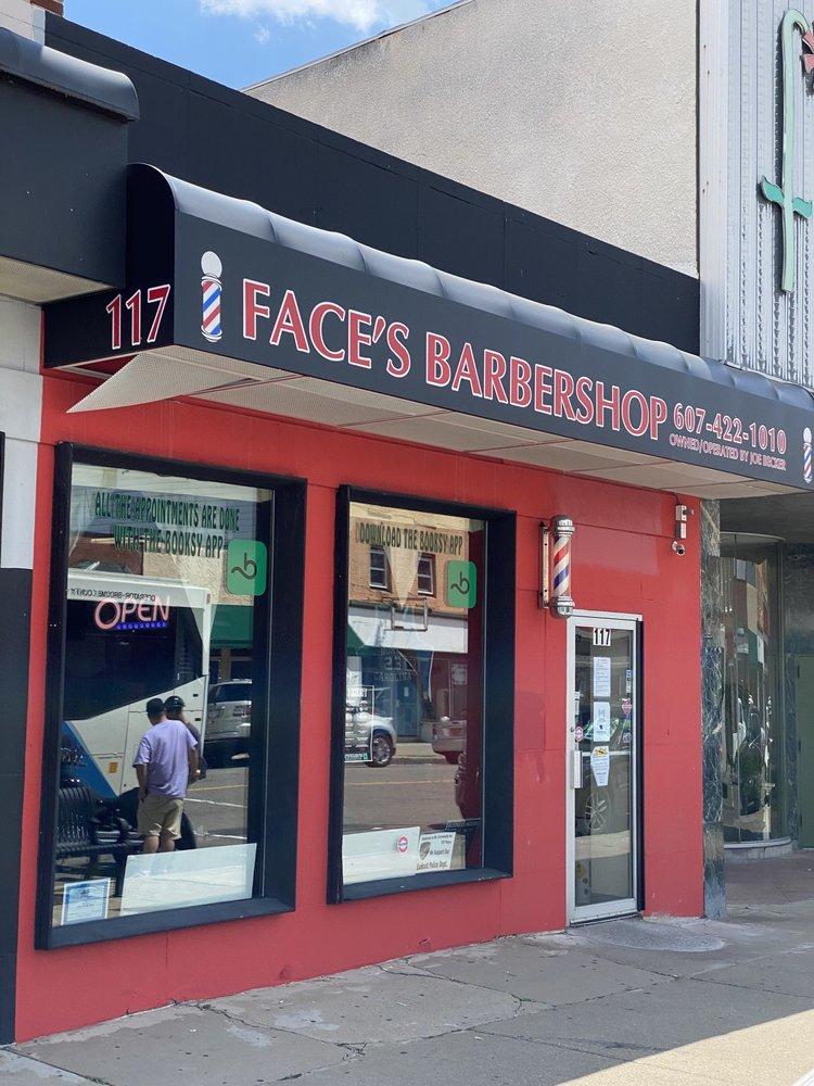 Face's Barbershop: 117 Washington Ave, Endicott, NY