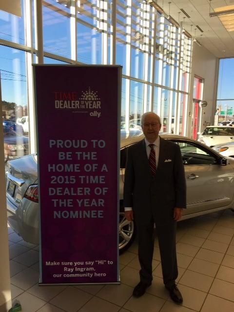 Jack Ingram Nissan >> Mr Ingram Jack Ingram Motors President Wins Alabama
