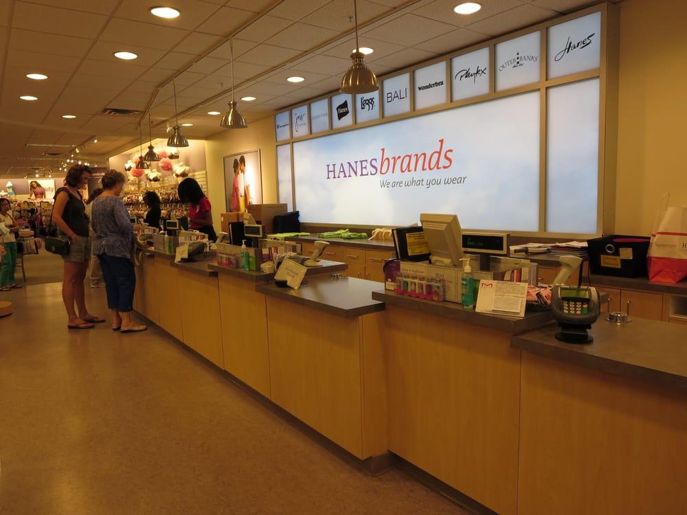 Hanesbrand: 383 Lower Mall Dr, Winston-Salem, NC