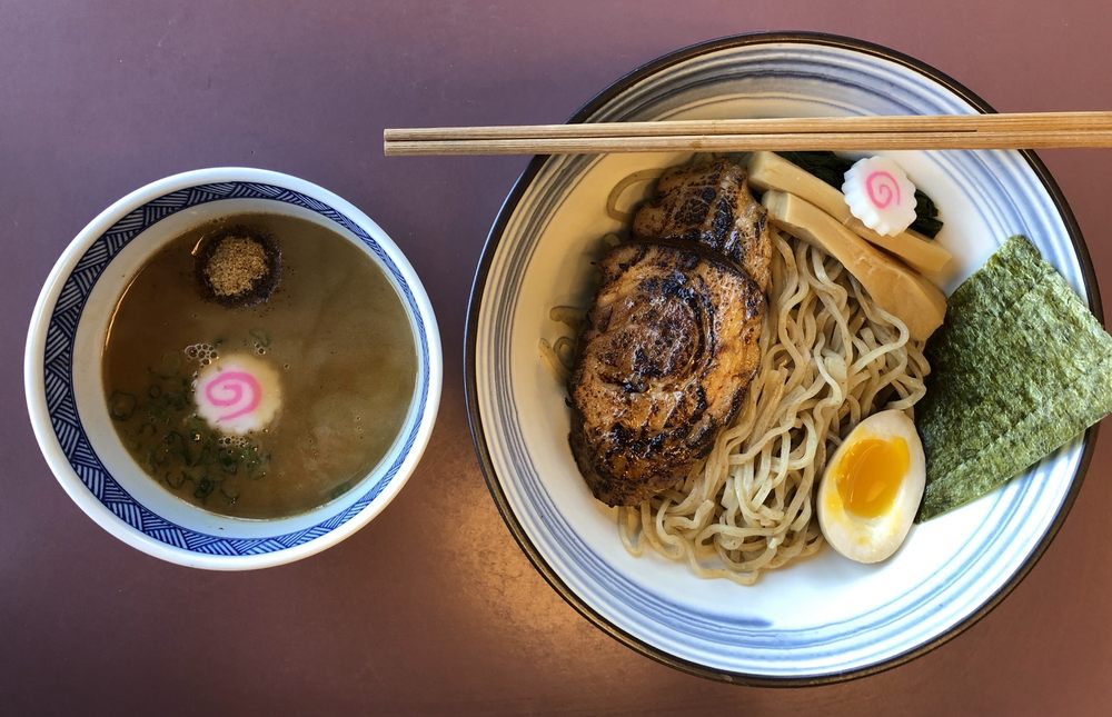 Food from Menya Hosaki Ramen Pop-Up