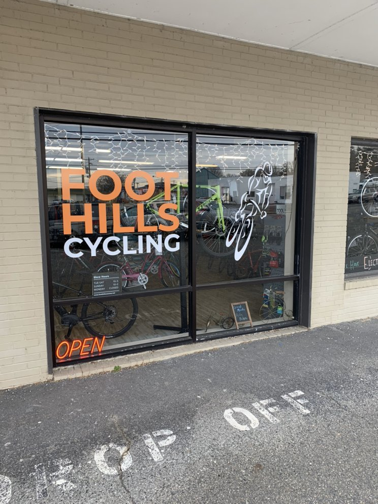 Foothills Cycling: 526 W Lebanon St, Mount Airy, NC
