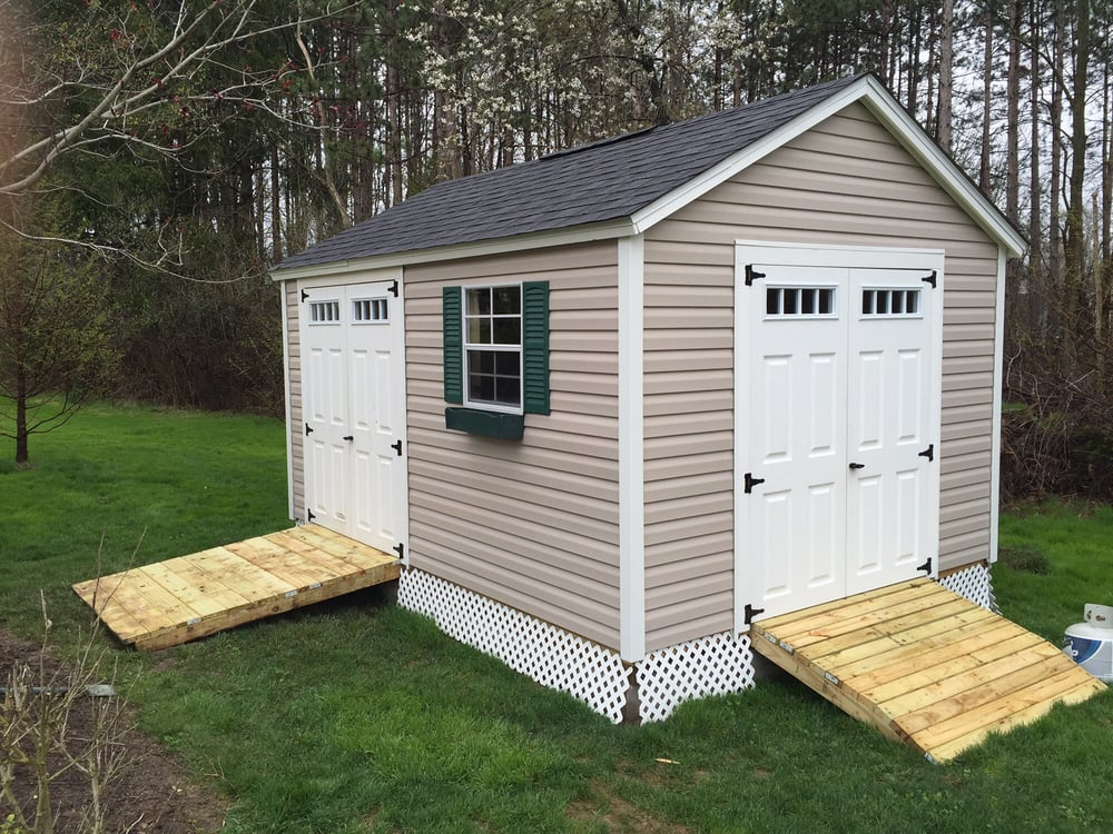Just-A-Shed: 6604 Towpath Ave NW, Canal Fulton, OH